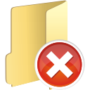 Folder Remove - icon gratuit(e) #197653
