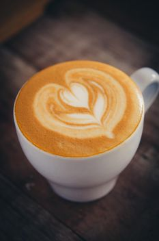 Coffee latte art - image gratuit #197843