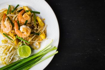 Thai food on a plate - Kostenloses image #197923