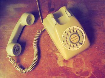 Vintage telephone - Free image #197973