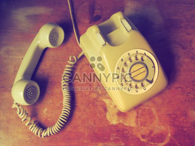 Jahrgang Telefon - Kostenloses image #197973
