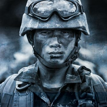 Thai soldier portrait - Free image #198033