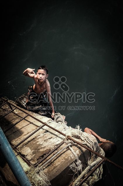Niño en Tailandia Hua Hin - image #198083 gratis