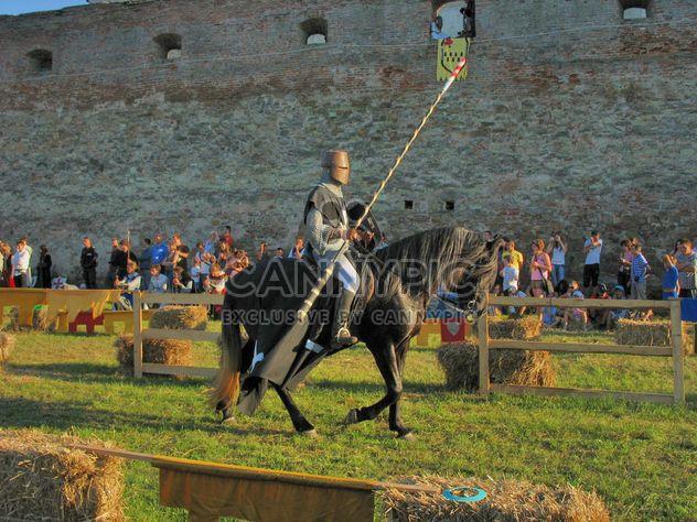 Средневековый рыцарь с копьем - бесплатный image #198113