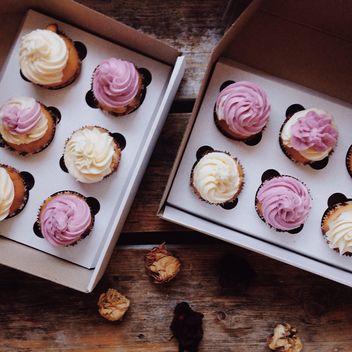 Christmas cupcakes - image gratuit #198443