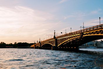 Trinity Bridge in St. Petersburg - Free image #198693