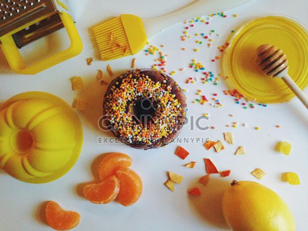 Ingredientes para o bolo - Free image #198733