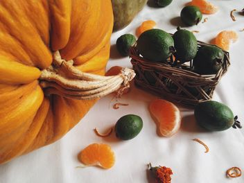 Autumn harvest, Vegetables and fruits - image gratuit #198743