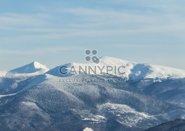 snowy mountains - Free image #198863
