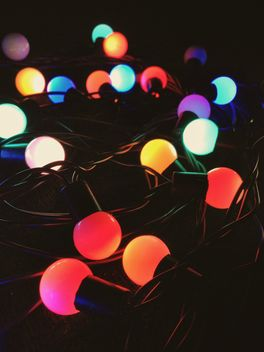 Christmas garland for the new year - image #198953 gratis