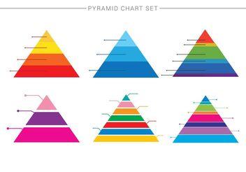 Pyramid Chart 1 - vector gratuit #199113