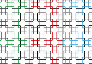 Free Seamless Squares Pattern Vector - vector #199173 gratis
