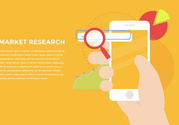 Market Research Vector - vector gratuit #199383