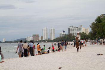 Hua Hin beach Prachuabkirikhan Thailand - Free image #200173