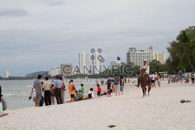Playa de Hua Hin Tailandia Prachuabkirikhan - image #200173 gratis