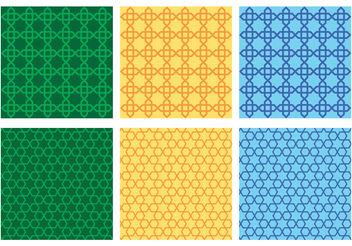 Vintage Morocco Pattern Vectors - vector gratuit #200383