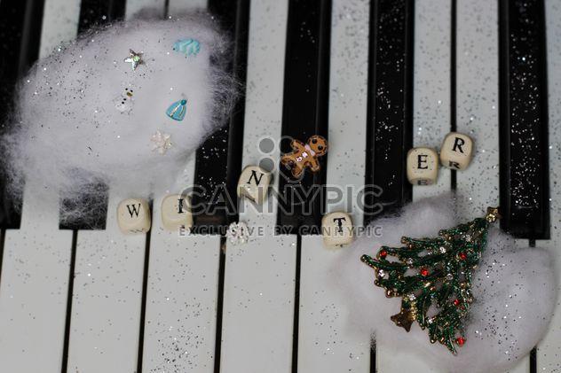 Christmas piano - Free image #200823