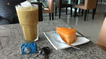Crepe Cake#sweet#delicious#break#event#party#stepping up#iced coffee - image gratuit(e) #201143