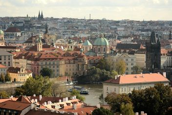 Cityscape of Prague, Czech Republic - Kostenloses image #201483