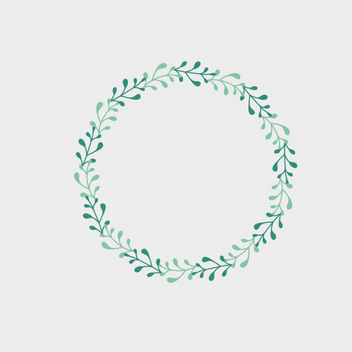 Free Vector Spring Frame - Free vector #201943