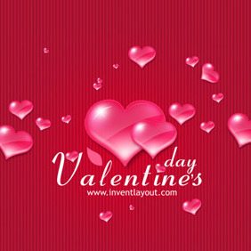 Valentine's Day Vector - Free vector #202053