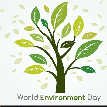 Green Tree Vector for World Environment Day - бесплатный vector #202193