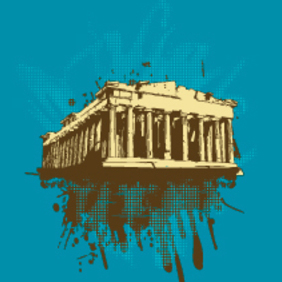 Vector Parthenon - vector gratuit #202963