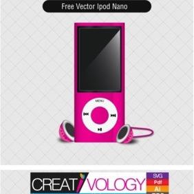 Free Vector Ipod Nano - бесплатный vector #203383