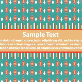 Retro Green Banner - vector #203763 gratis
