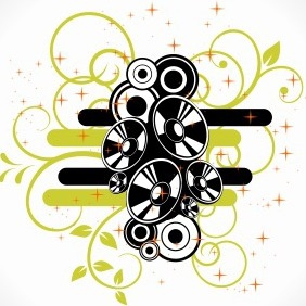 Abstract Speaker Background - vector #204213 gratis