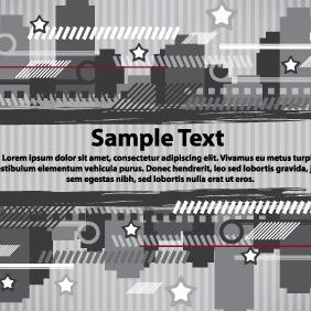Urban Banners Design Card - vector gratuit(e) #204273