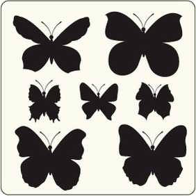 Butterflies 14 - vector #204483 gratis