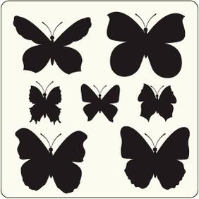 Butterflies 14 - Free vector #204483