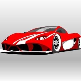 Ferrari Aurea Berlinetta - Free vector #204543