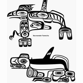 Haida Designs - Kostenloses vector #204563