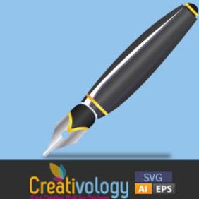 Free Vector Pen - Kostenloses vector #204693