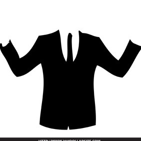 Free Business Suit Vector - Free vector #204733
