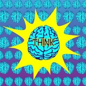 Brain Vector - Free vector #204803