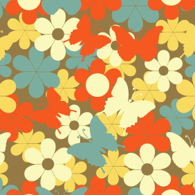 Seamless Pattern 111 - Free vector #204913