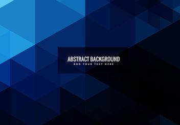 Abstract geometric shapes background - Free vector #205093