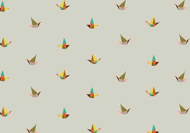 Origami-Hintergrundmuster - Free vector #205113