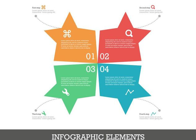 Free Infographics Elements Vector - Free vector #205203
