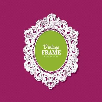 Vintage Frame - Kostenloses vector #205343