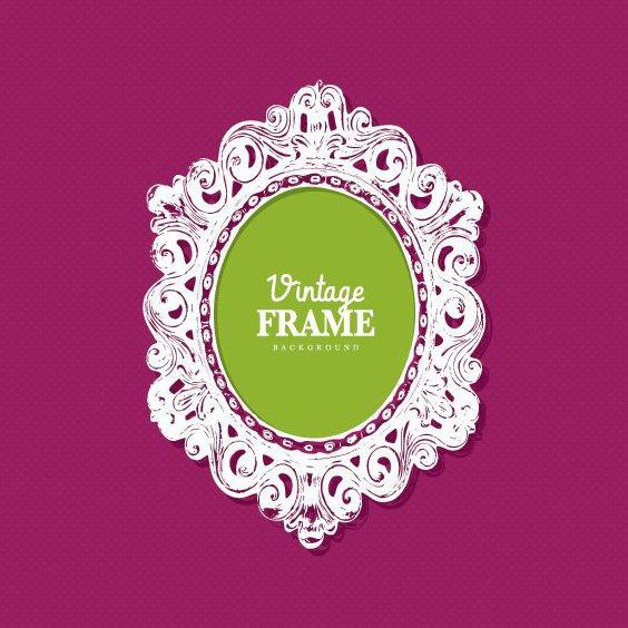 Vintage Frame - Free vector #205343