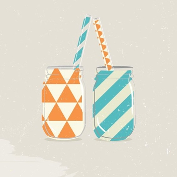 Party Jars - vector gratuit #205663