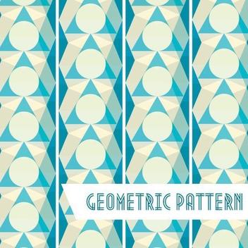 Geometric Pattern Background - vector gratuit #205703