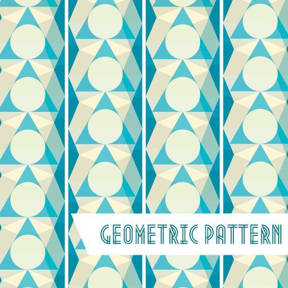 Geometric Pattern Background - Free vector #205703