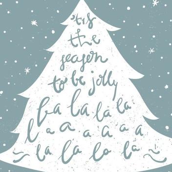 Christmas Carol - vector #205963 gratis