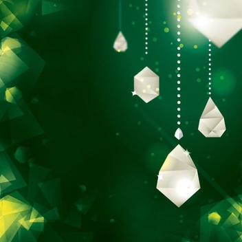 Diamond Decorations - Free vector #205973