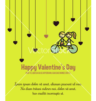 Free happy valentines day background vector - Free vector #205993